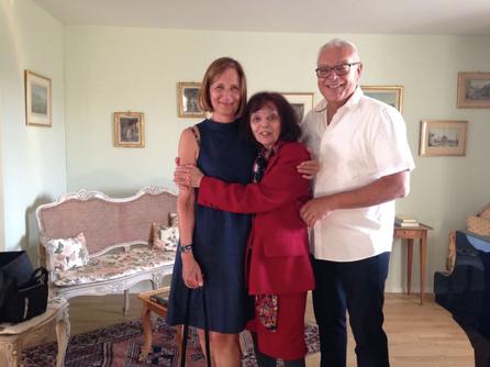 Esther Yellin mit  Beatrice Bütler, Ferdinand Sieber
