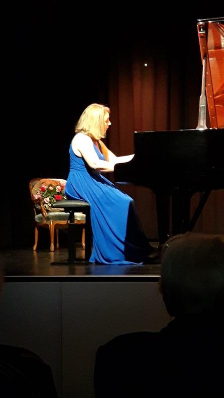 Ivona Suma gibt Zugabe, Klavier-Rezital, 11. Januar 2019, Schappesaal, Kriens