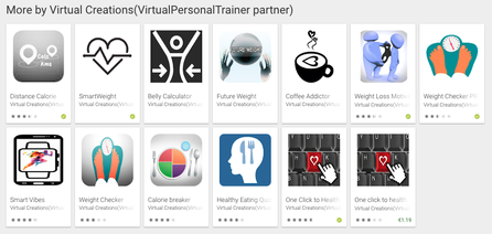 Virtual Personal Trainer google play apps