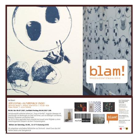 Ausstellung der Kulturrepublik in der Blam! Produzentengalerie in Dortmund