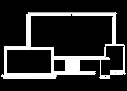 Das Responsive Webdesign ermöglicht das einheitliche Anzeigen Ihrer Webseite auf allen Anzeigegeräten. Das Layout einer Webseite wird so gestaltet, dass dieses auf Computer-Desktop, Tablet und Smartphone eine gleichbleibende Benutzerfreundlichkeit bietet.