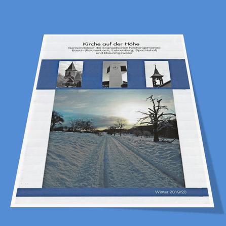 Gemeindebrief Winter 2019/2020 - Ev. Kirchengemeinde Breuningsweiler