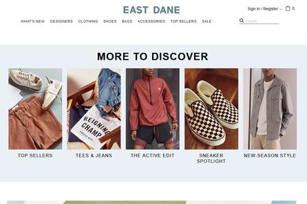 East Dane ( Amazon旗下專業男士服飾時尚購物網)