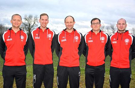 Florian Manger, Martin Jürgens, Matthias Wein, Daniel Neugebauer, Alexander Dettmann