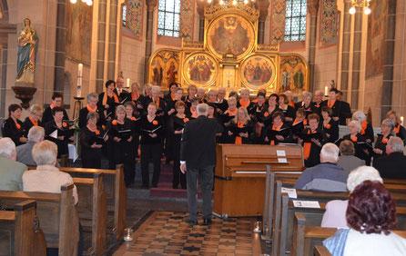 Kirchenchor, Frauenchor Wollendorf, Werner Pürling, Karsten Huschke, Choralschola