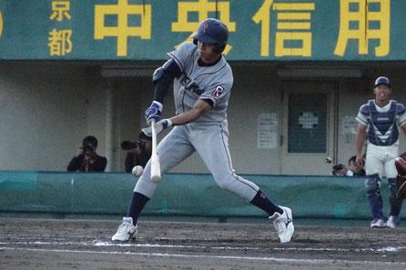 2018年10月、関西学生野球秋季リーグ・立同戦にて