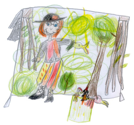 """""""Tilla Tiralla"""" - eine Kinderzeichnung"""