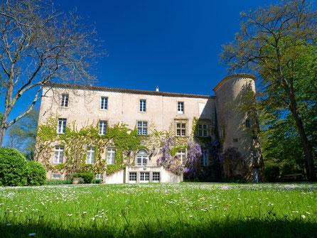 gite pays cathare Clevacances à Plaigne Château la Commanderie dans l'Aude