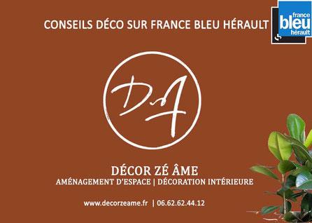 Conseil décorateur sur France bleu hérault