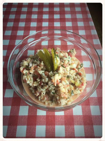 Kohlrabi Salat Thermomix, Kohlrabi Gewürzgurken Thermomix, Rohkost Salat Thermomix
