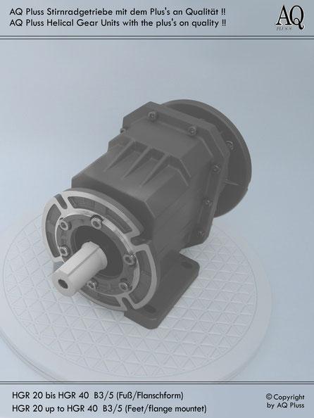 stirnradgetriebe flansch ohne mot elektromotor von aq. Black Bedroom Furniture Sets. Home Design Ideas