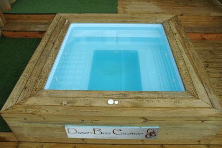 Mini piscine SPA en eau