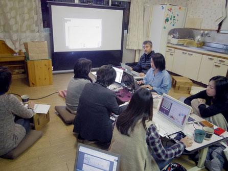 田原の保育園で開催した勉強会