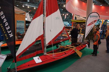 Klepper Faltboot hochgerüstet