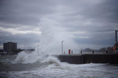 Die Urgewalt des Meeres und vom Wind