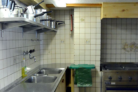 Chappelihus Küche mit Gastroherd