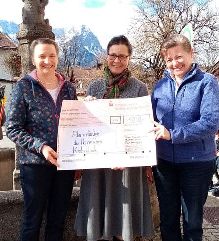 Foto: privat, von links Birgit Rieger, Margarete Bader, Waldtraut Grasegger