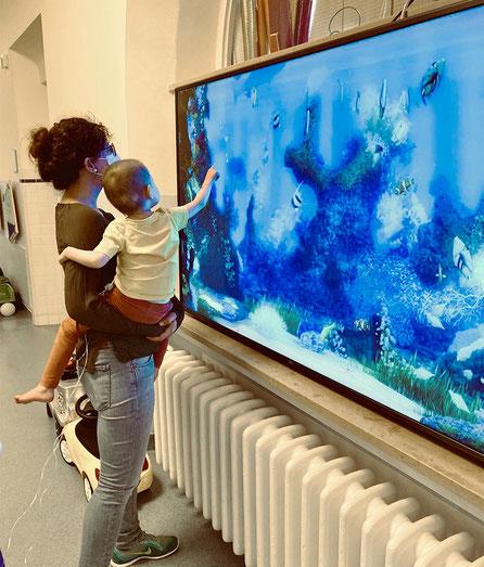Das living-aquarium wurde von einer Stiftung gespendet, die ungenannt bleiben möchte. Wir bedanken uns sehr dafür!