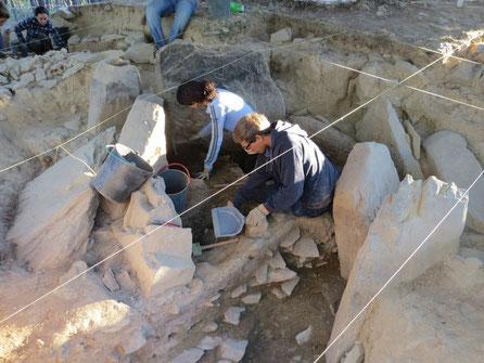 Ausgrabung für Freiwillige - Megalithkultur
