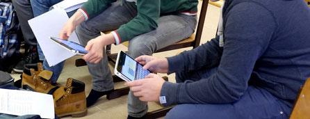 SchülerInnen in Klosterneuburg