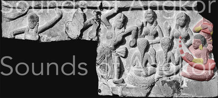 Ier siècle CE.Provenance : Mathura (Kankali Tila), Uttar Pradesh. Grès rouge (25 x 55 cm) conservé au Musée de Lucknow (Uttar Pradesh).