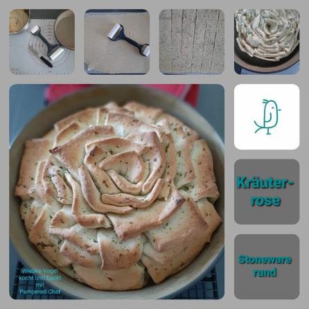 Dein Pinterest Pin für die Kräuterrose aus der Stoneware rund von Pampered Chef®