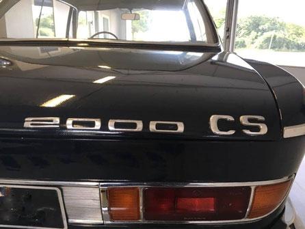 Cette image represente un véhicule Bmw 2000 CS de 1966