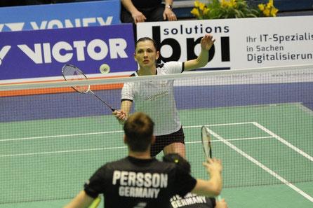Olga Konon im Finale der Deutschen Meisterschaften 2018. Bild: Claudia Pauli