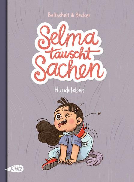 Selma tauscht Sachen - Hundeleben © Kibitz Verlag