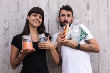 Valeria & Pascal, Gründer von na_le in Einsiedeln, Kanton Schwyz © na_le GmbH
