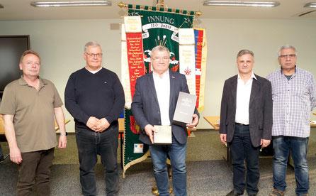 Der Vorstand der Malerinnung JL/Zerbst. Foto: Alpha-Report