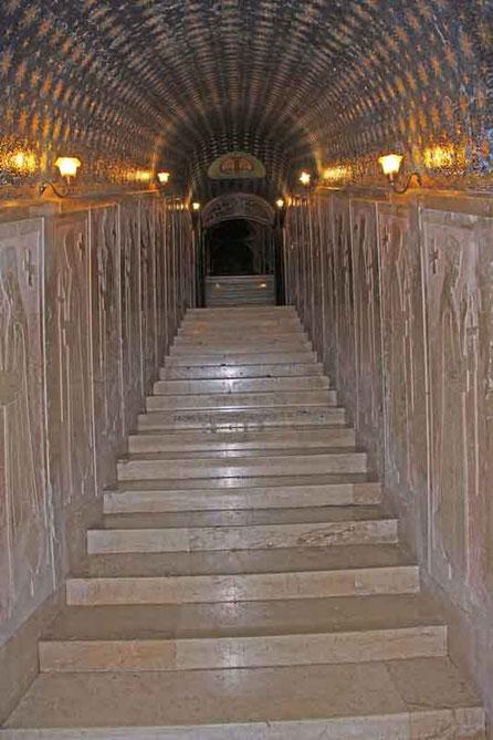 Zugang zum Museum im Kloster
