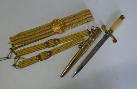 dague officier marine roumaine