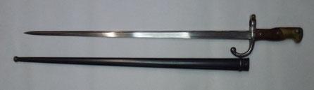 baionnette fusil gras  mle 1874