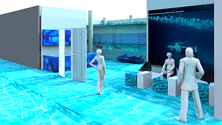 3D Entwurf für FISH SPA AND MORE by pilzdesign