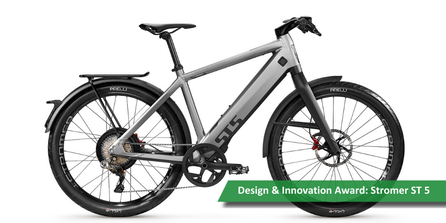 Stromer ST5 gewinnt Design & Innovation Award 2020