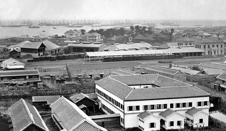 横浜駅(現在の桜木町駅)