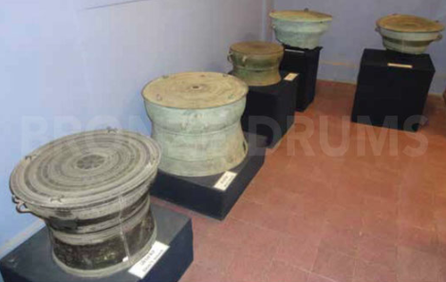Fig. 1. VNM Drums old collection general view.
