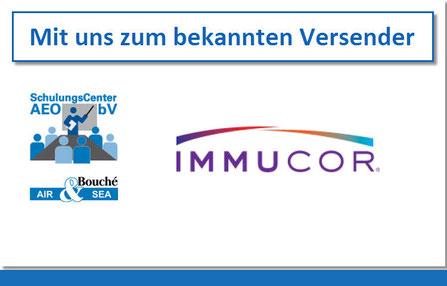 Referenz Immucor Medizinische Diagnostik GmbH: Mit uns zum bekannten Versender (bV)