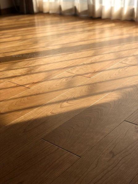 経年変化をたのしめる美しい床