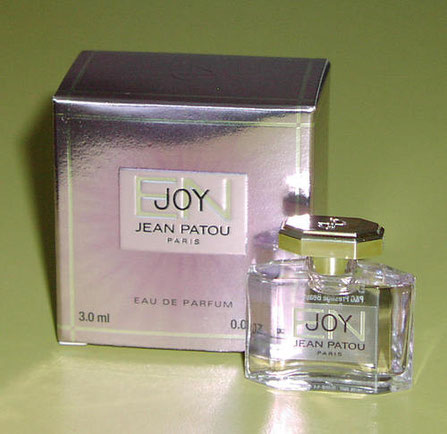 ENJOY - EAU DE PARFUM 3 ML - ETIQUETTE FILM TRANSPARENTE - 2003
