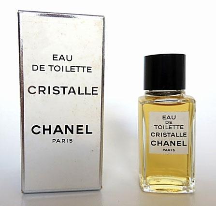 CRISTALLE - EAU DE TOILETTE - MINIATURE GROS MODELE DE 19 ML