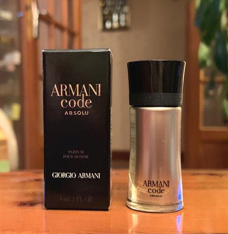 2019 - ARMANI CODE ABSOLU - PARFUM POUR HOMME 4 ML
