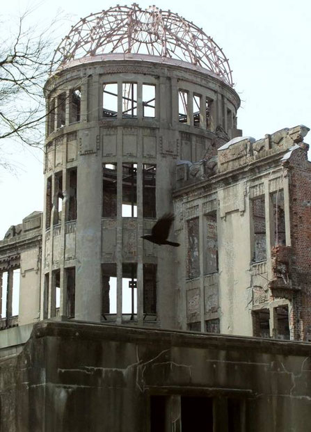 Genbaku Dome (Mémorial de la Paix ou Dôme de la Bombe atomique)