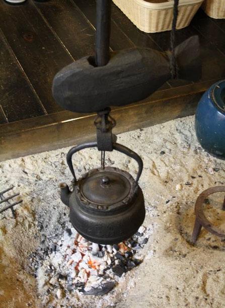Le thé chauffe - Irori du Tajimaya
