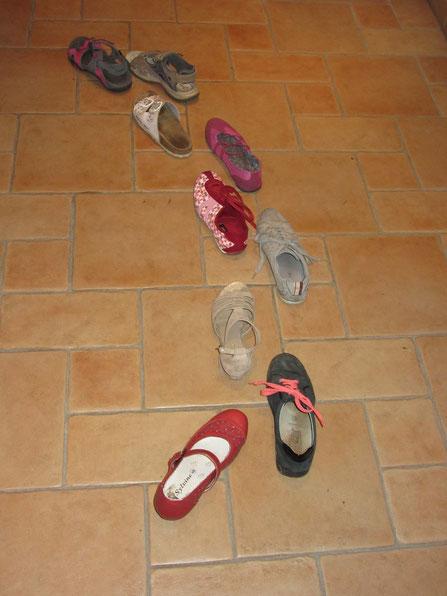 laufende Schuhe von Melissa