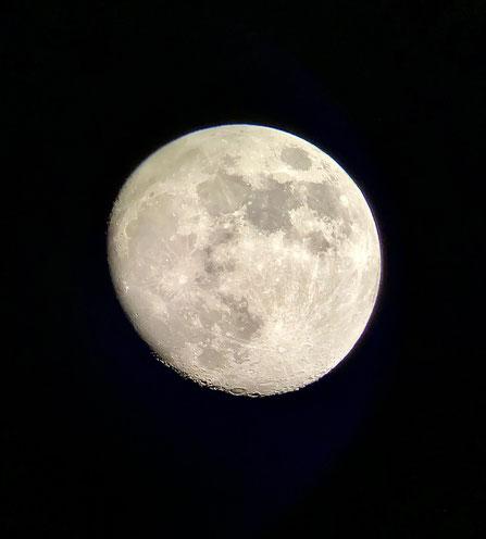 大分ローカルタレントが月を鑑賞