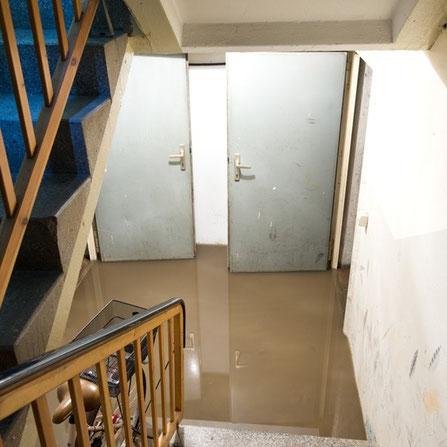 Wasserschaden im Keller, was nun