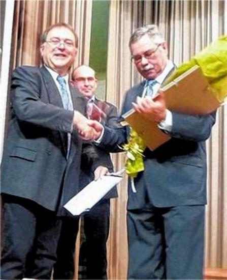 Zum Ehrenmitglied ernannt - Eugen Bach - 2014