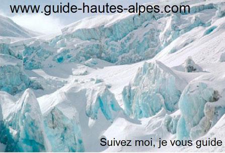 guide de haute montagne-chamonix vallée blanche